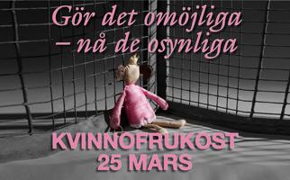 Kvinnofrukost 25 mars