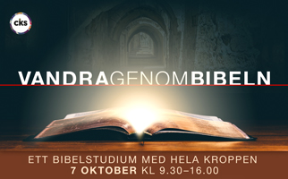 Vandra genom bibeln 7 oktober