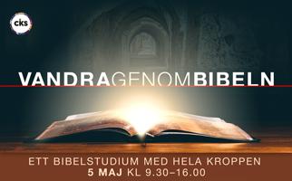 Vandra genom bibeln 5 maj