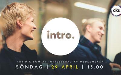 Introkurs 29 April