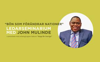 Ledarseminarium | Med John Mulinde
