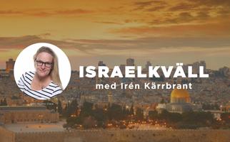 Israelkväll med Irén Kärrbrant