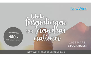 New Wine ledarkonferens Stockholm