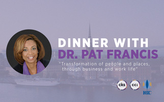 Dinner with Dr. Pat Francis