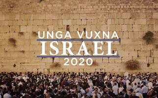 OBS! Inställt – Unga Vuxna Israel 2020