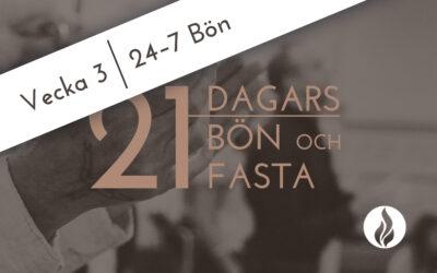 24-7 Bön: Bön och Fasta 2020